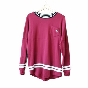 Pink by Victoria's Secret VS Red Long Sleeve Shirt